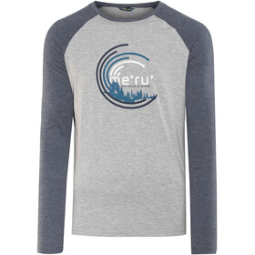 Meru Karlskoga Longsleeve Shirt Men grey/blue